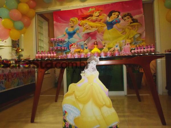 Decoração Festa Princesas da Disney: