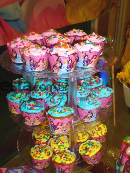 Cupcakes Princesas da Disney:
