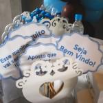Tema: Chá de Bebê Ursinho Azul e Marrom – Festa da Leitora Patricia Salvador!