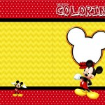 Revista Colorindo Mickey