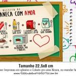 Rótulo Xícara Dia dos Professores 2015 Dica de Presente