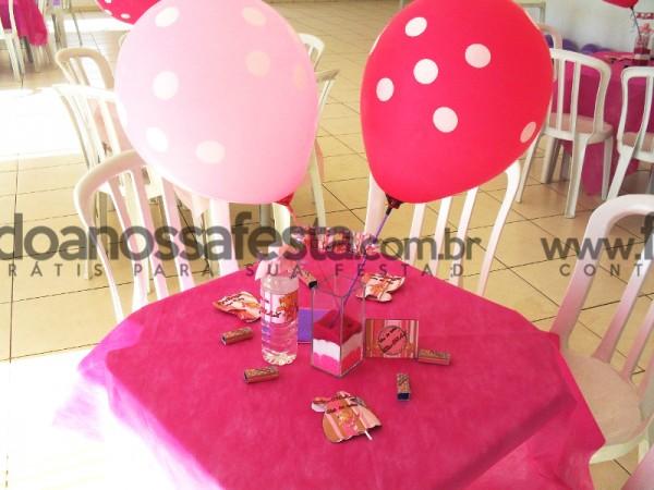 Centro de Mesa Chá de Bebê Ursinha: