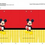 Sacolinha Lembrancinha Mickey - A3
