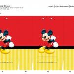 Sacolinha Lembrancinha Mickey Mouse - A3