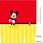 Sacolinha Lembrancinha Mickey - Parte 1