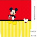 Sacolinha Lembrancinha Mickey - Parte 2