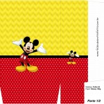 Sacolinha Surpresa Mickey 2 - Parte 1