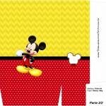 Sacolinha Surpresa Mickey Mouse 2 - Parte 2