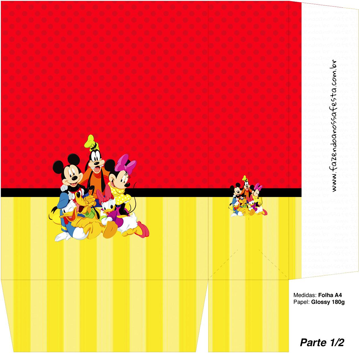 Sacolinha Surpresa Mickey e sua Turma - Parte 1