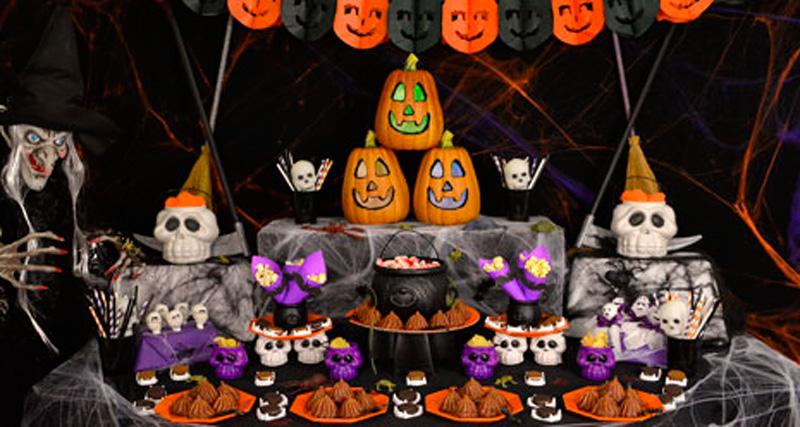 festa de halloween no minecraft