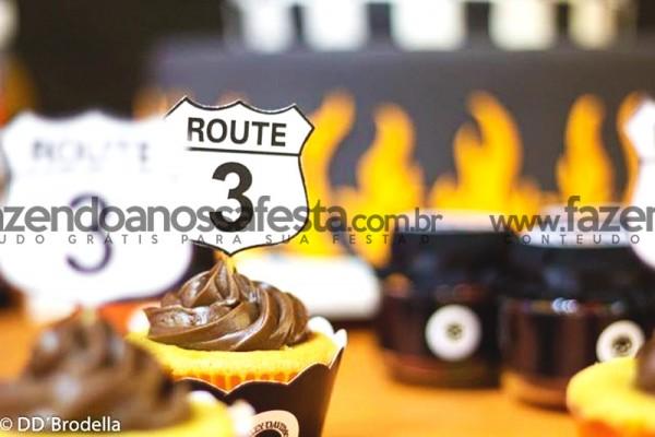 Cupcakes Harley Davidson: