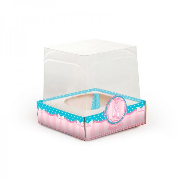 Mini Caixa para Cupcake: