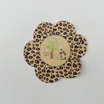 Flor Chá de Bebê Safari