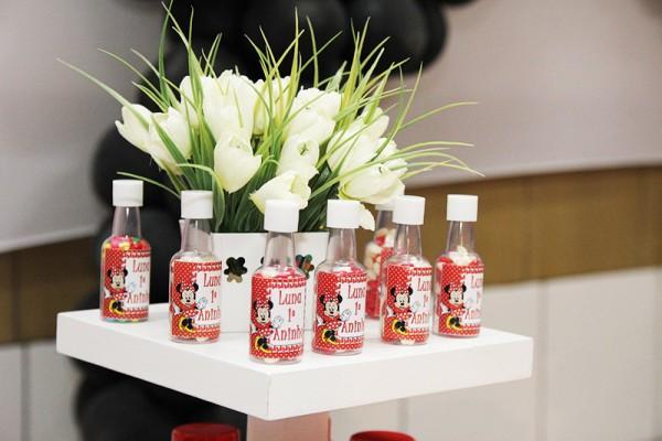 Potinhos Personalizados Minnie Vermelha:
