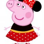Peppa Pig Minnie Vermelha