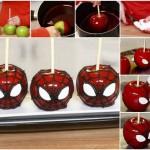 Maça do Amor do Homem Aranha – Como fazer!