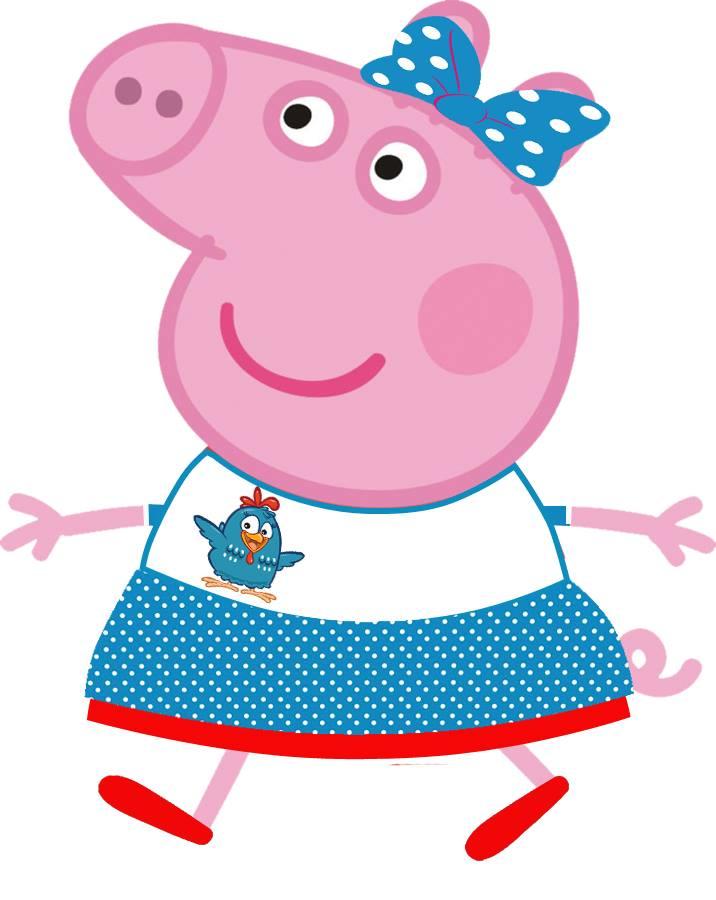 Peppa Pig Galinha Pintadinha
