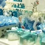 Mesa de Doces Festa Frozen