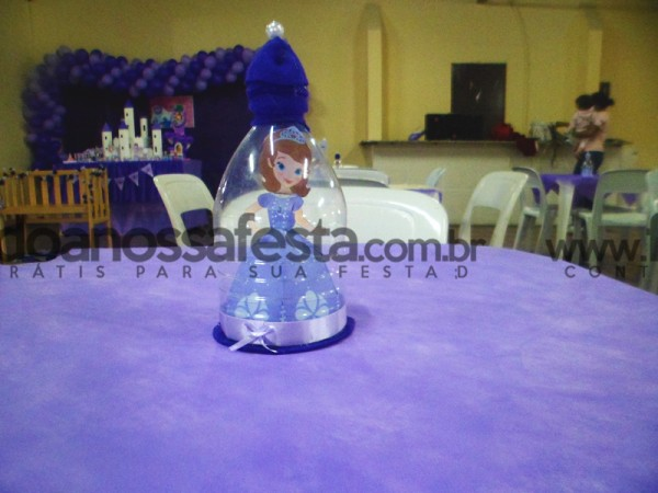 Centro de Mesa Princesa Sofia: