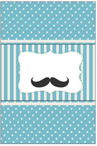 Bala Personalizada Ch 225 De Beb 234 Mustache Fazendo A Nossa