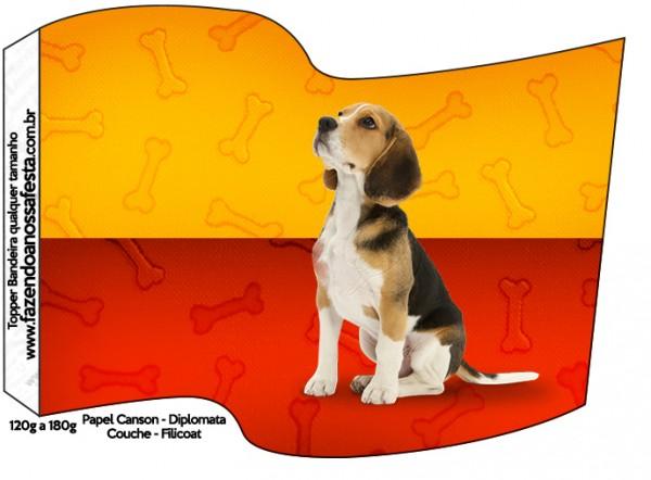 Bandeirinha Cachorrinho Beagle