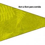 Bandeirinha Danduiche Fundo Safari1