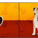 Bandeirinha Sanduiche 1 Cachorrinho Beagle
