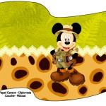 Bandeirinha Sanduiche 1 Mickey Safari