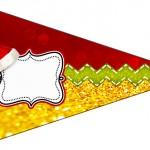 Bandeirinha Sanduiche 2 Natal Papai Noel