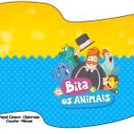 Bandeirinha Sanduiche Bita e os Animais para Meninos 1