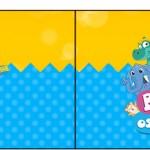 Bandeirinha Sanduiche Bita e os Animais para Meninos 2