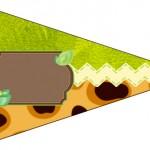 Bandeirinha Sanduiche Safari 3