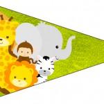 Bandeirinha Sanduiche Safari 4
