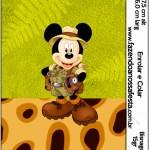 Bisnaga Brigadeiro 15gr Mickey Safari