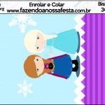 Bisnaga Brigadeiro 30gr Frozen Cute Roxo e Azul