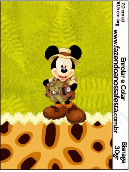 Bisnaga Brigadeiro Mickey Safari