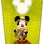 Bisnaga Flip Top Mickey Safari