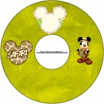 CD DVD Mickey Safari