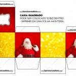 Caixa Bis Natal Papai Noel