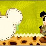 Caixa Bombom 1 Mickey Safari