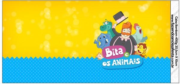 Caixa Bombom Bita e os Animais para Meninos 2