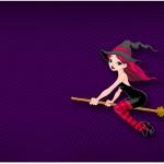 Caixa Bombom Halloween Bruxinha
