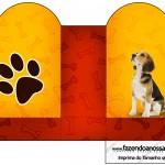 Caixa Coração Cachorrinho Beagle