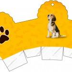 Caixa Cupcakes Cachorrinho BeagleCaixa Cupcakes Cachorrinho Beagle