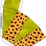 Caixa Fatia Fundo Safari