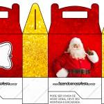 Caixa Lembrancinha Surpresa Natal Papai Noel