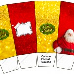 Caixa Pipoca Natal Papai Noel