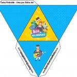 Caixa Pirâmide Bita e os Animais para Meninos