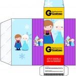 Caixa Remédio Frozen Cute Roxo e Azul