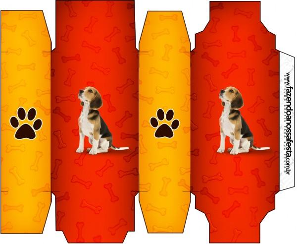 Caixa Sabonete Cachorrinho Beagle